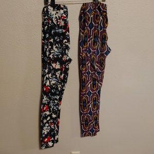 2 pair of LuLaRoe One Size leggings